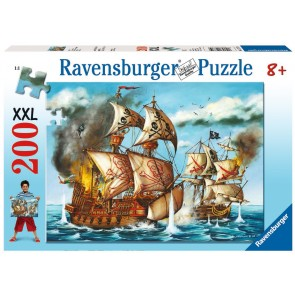 Rburg - Pirates Battle Puzzle 200pc