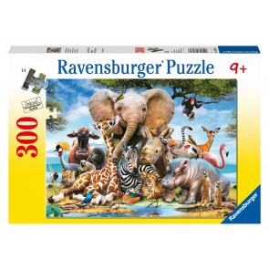 Rburg - Favourite Wild Animals Puzzle 300pc