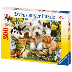 Rburg - Happy Animal Babies Puzzle 300pc