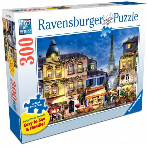 Rburg - Pretty Paris Lge Format Puzzle 300pc