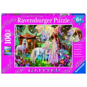 Princess with Unicorn Puzzle