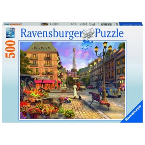 Rburg - A Walk Through Paris 500pc Puzzle