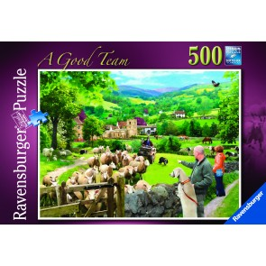 Rburg - A good team 500pc Puzzle