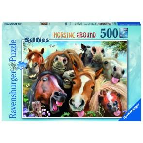 Rburg - Horsing Around 500pc Puzzle