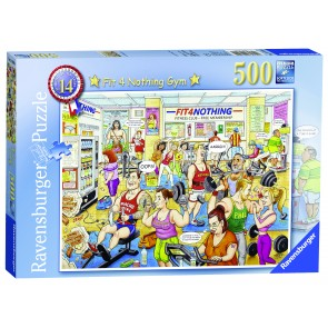 Rburg - Fit 4 Nothing Gym Puzzle 500pc