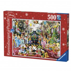 Rburg - Disney Christmas Train Puzzle 500pc