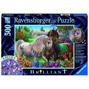 Rburg - Adorned Stallions Puz Brilliant 500pc