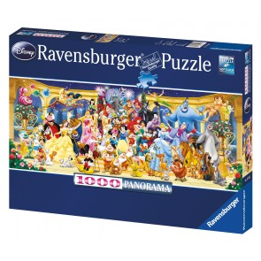 Rburg - Disney Characters Panoramic 1000pc
