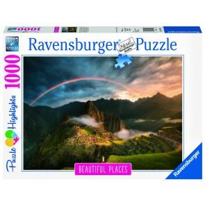Rainbow over Machu Picchu Peru Puzzle