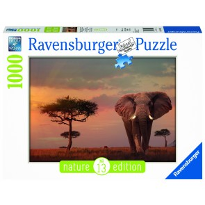 Elephant of the Massai Mara Puzzle