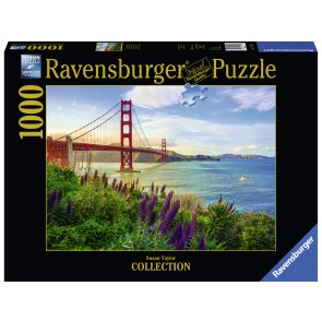 Golden Gate Sunrise Puzzle