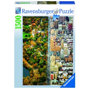 Rburg - Divided Town Puzzle 1500pc