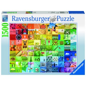 Rburg - 99 Colours 1500pc Puzzle