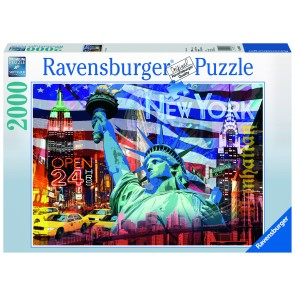 Rburg - New York Collage 2000pc Puzzle