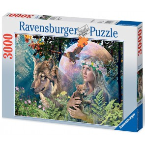 Rburg - Lady of the Forest Puzzle 3000pc