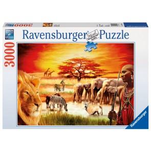 Rburg - Proud Maasai Puzzle 3000pc