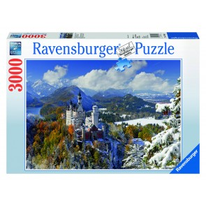 Rburg - Neuschwanstein Winter Puzzle 3000pc