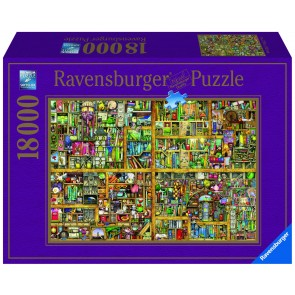 Rburg - Magical Bookcase 18000pc Puzzle