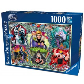 Rburg - Disney Wicked Women Puzzle 1000pc