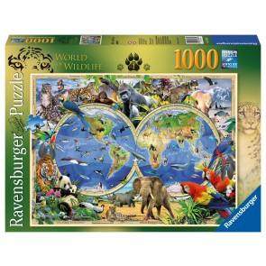 Rburg - Word of Wildlife Puzzle 1000pc