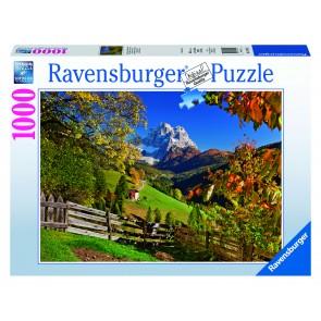 Rburg - Mountainous Italy Puzzle 1000pc