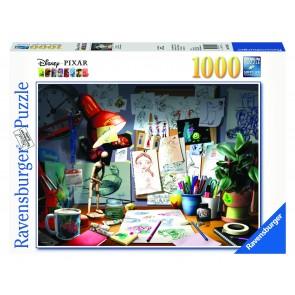 Rburg - Disney Pixar The Artist's Desk 1000pc