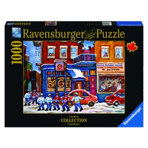 Rburg - St Viateur Bagel Hockey Puz 1000pc
