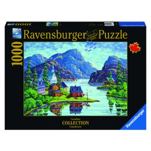 Rburg - The Saguenay Fjord Puzzle 1000pc