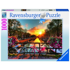 Rburg - Bicycles in Amsterdam 1000pc Puzzle