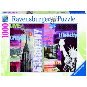Rburg - New York 1000pc Puzzle