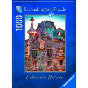 Rburg - Casa Batll�, Barcelona 1000pc Puzzle