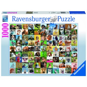 Rburg - 99 Funny Animals Puzzle 1000pc