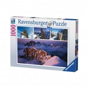 Rburg - Views Of Mont Blanc Puzzle 1000pc
