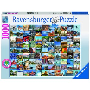 Rburg - 99 Beautiful Places 2 Puzzle 1000pc