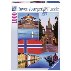 Trondheim Collage Puzzle