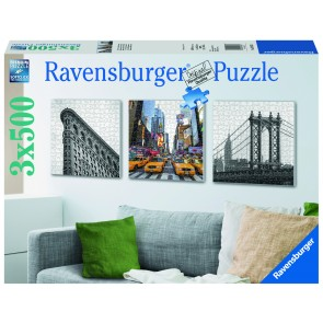 Rburg - New York Impressions Puzzle 3x500pc