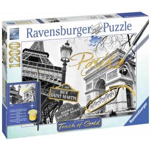 Golden Paris Puzzle