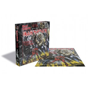 Rock Saws Iron Maiden - The Number Of The Beast Jigsaw Puzzle