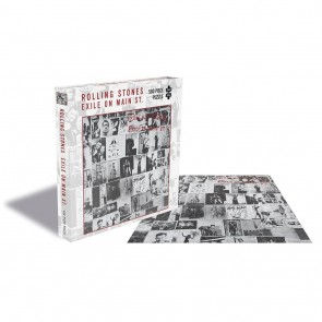 Rock Saws The Rolling Stones - Exile On Main St Jigsaw Puzzle
