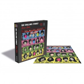 Rock Saws The Rolling Stones - Some Girls Jigsaw Puzzle