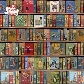 High Jinks Bookshelves Jigsaw Puzzle