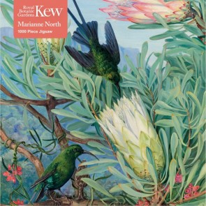 Kew Gardens' Marianne North: Honeyflowers and Honeysuckers Jigsaw Puzzle