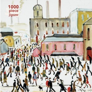 L.S. Lowry: Going to Work Jigwaw Puzzle