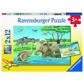 Ravensburger Baby Safari Animals Jigsaw Puzzle