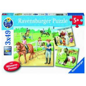 Ravensburger A Day at the Stables Jigsaw Puzzle