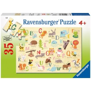Ravensburger A-Z Animals Jigsaw Puzzle