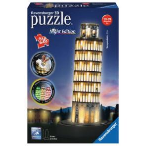 Pisa At Night 3D Puzzle