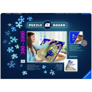 Non-slip Velour Surface Puzzle Board