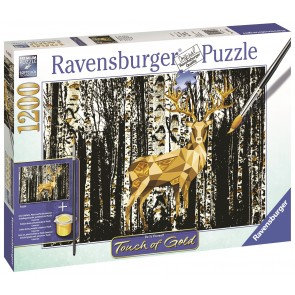 Deer in the Birch Forest Puzzle