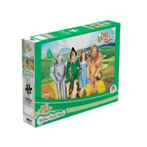 The Wizard Of Oz Yellow Brick Road Jigsaw Puzzle